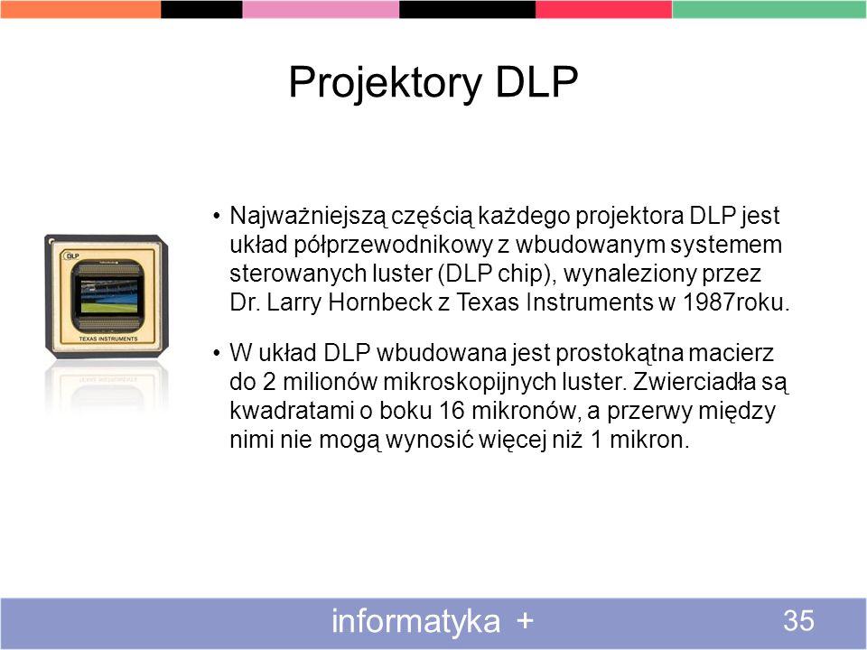 Projektory DLP informatyka +