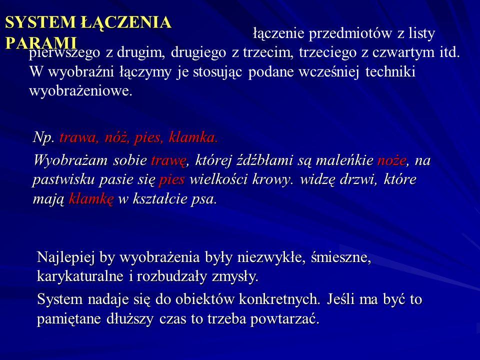 SYSTEM ŁĄCZENIA PARAMI