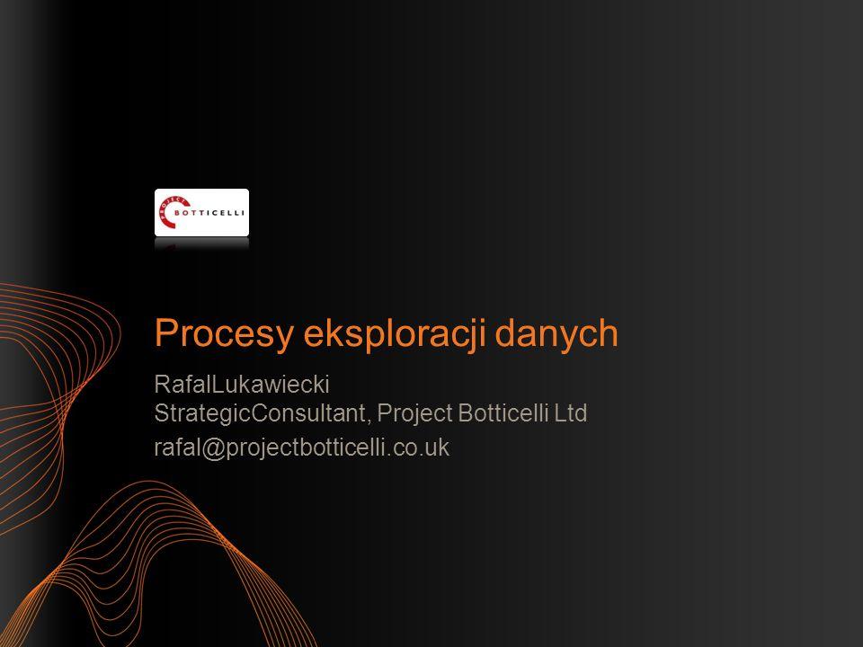 Procesy eksploracji danych