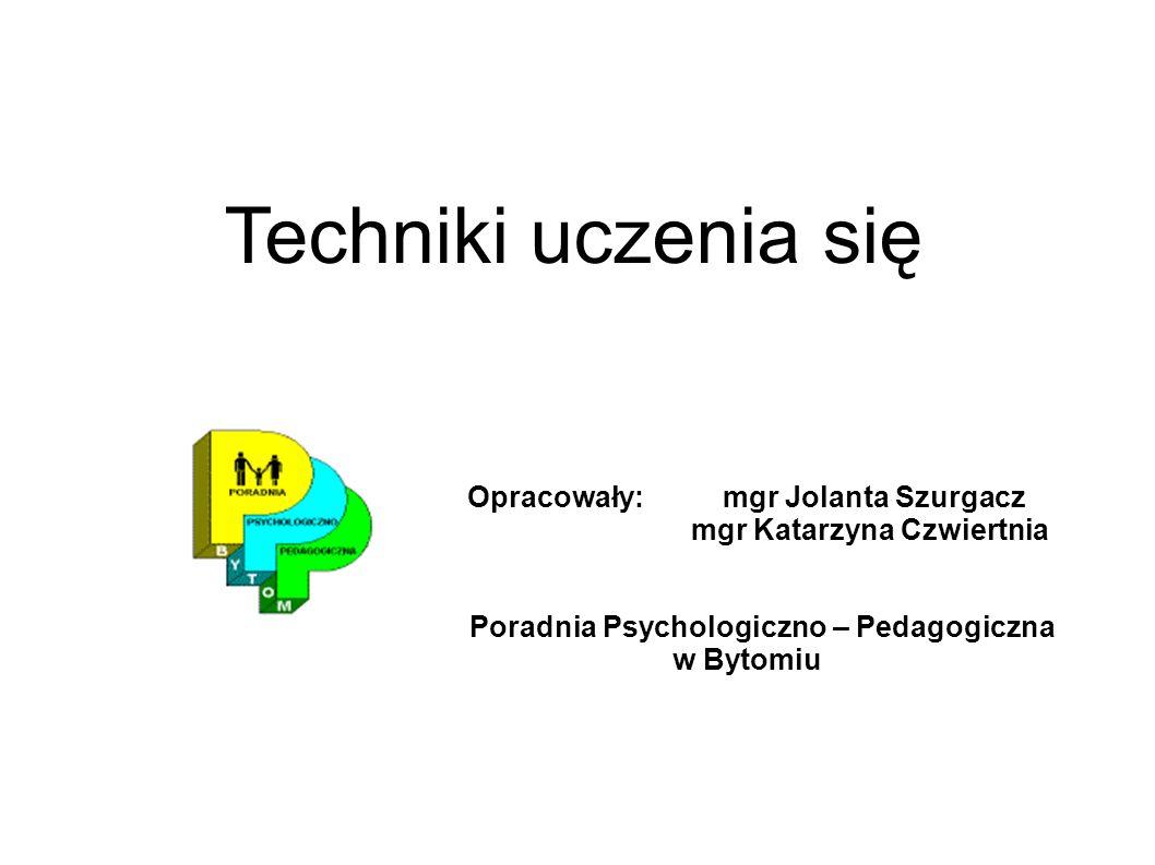 mgr Katarzyna Czwiertnia Poradnia Psychologiczno – Pedagogiczna