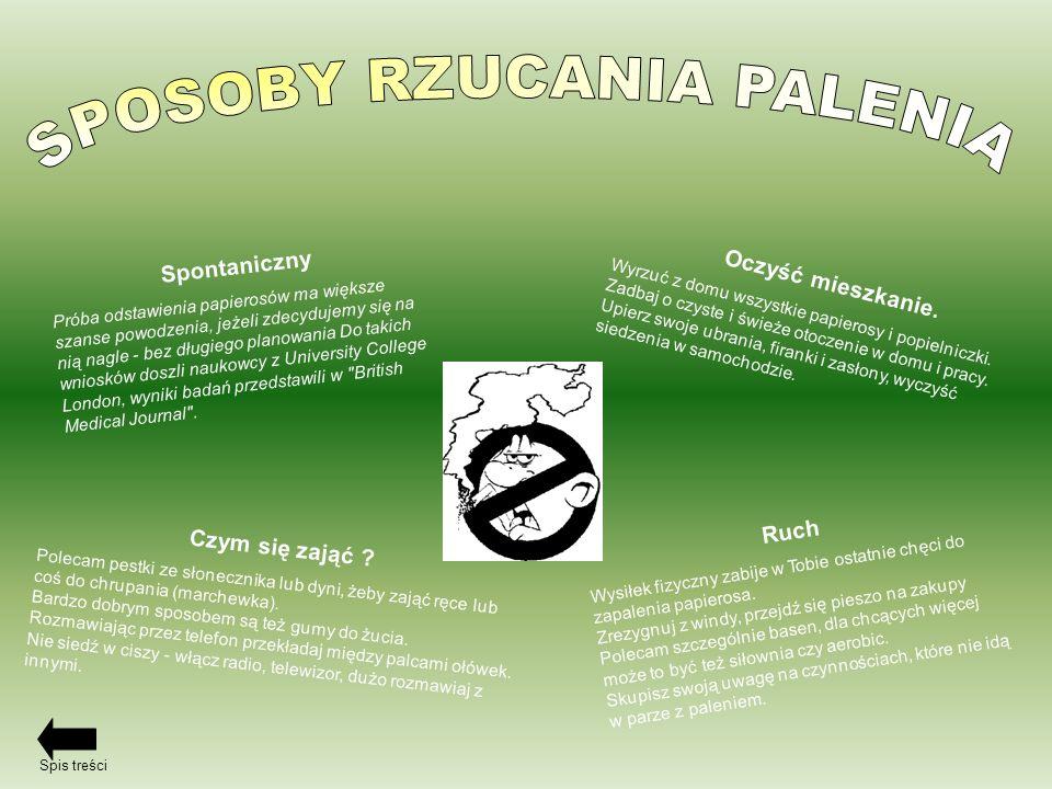 SPOSOBY RZUCANIA PALENIA