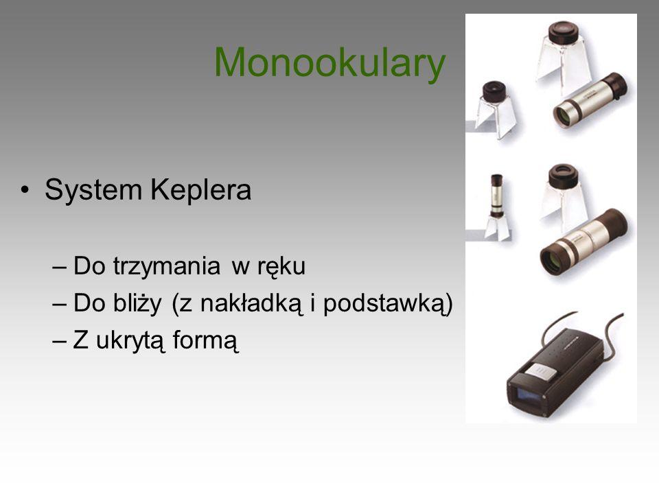 Monookulary System Keplera Do trzymania w ręku