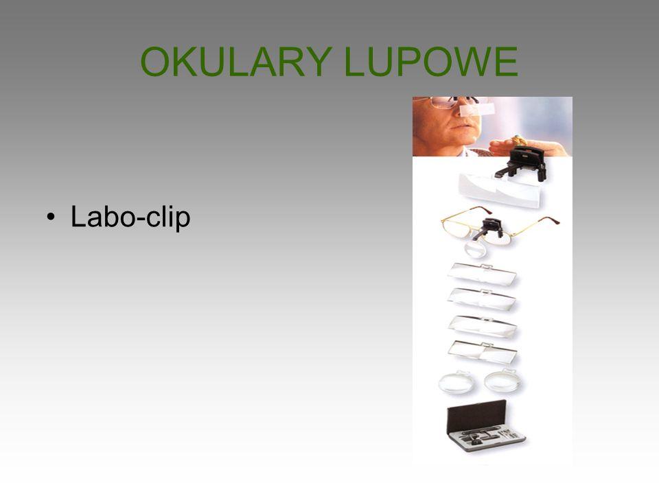 OKULARY LUPOWE Labo-clip