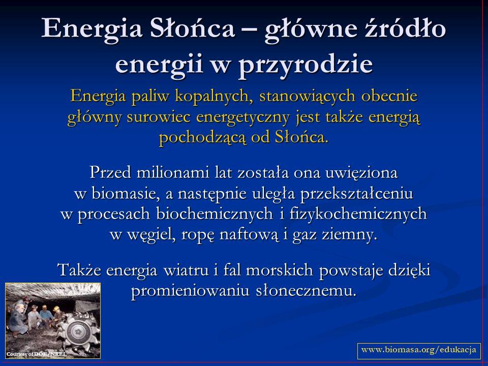 Energia Słońca – główne źródło energii w przyrodzie
