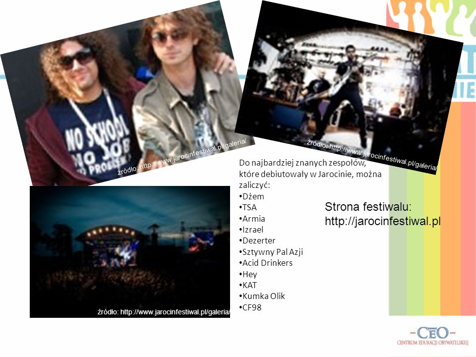Strona festiwalu: http://jarocinfestiwal.pl