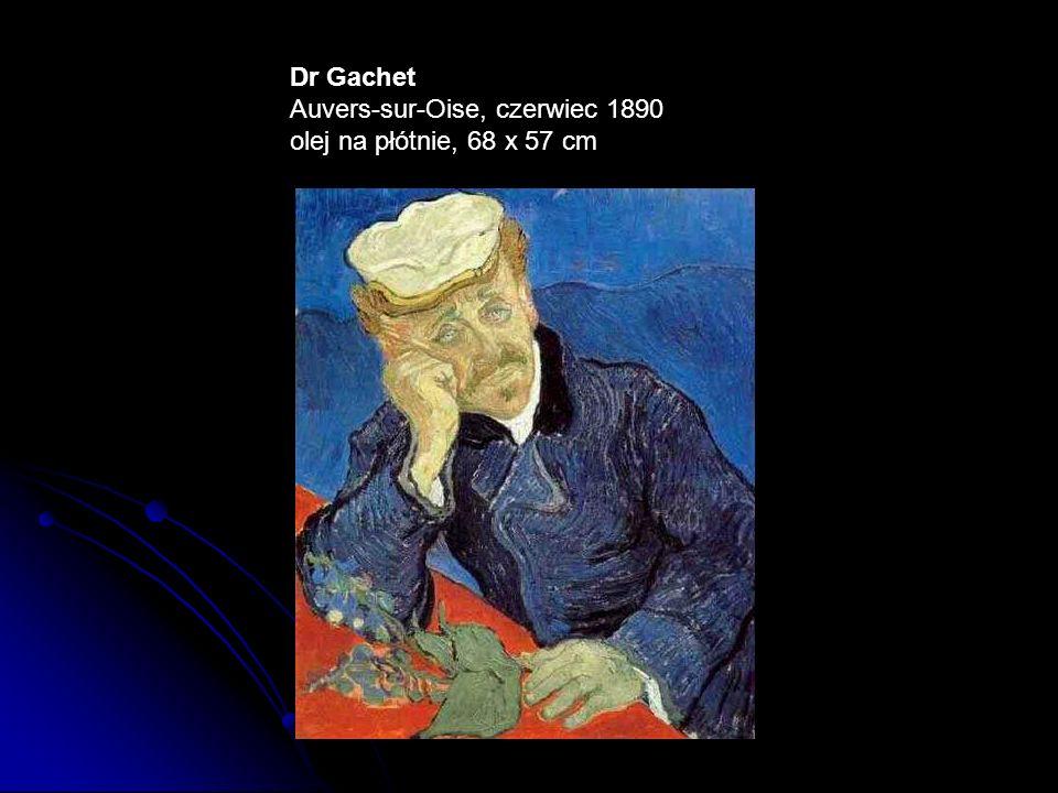 Dr Gachet Auvers-sur-Oise, czerwiec 1890 olej na płótnie, 68 x 57 cm