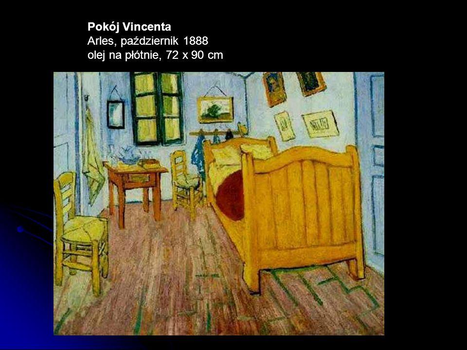 Pokój Vincenta Arles, październik 1888 olej na płótnie, 72 x 90 cm