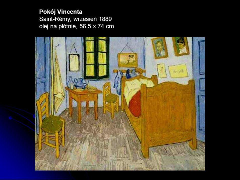 Pokój Vincenta Saint-Rémy, wrzesień 1889 olej na płótnie, 56.5 x 74 cm