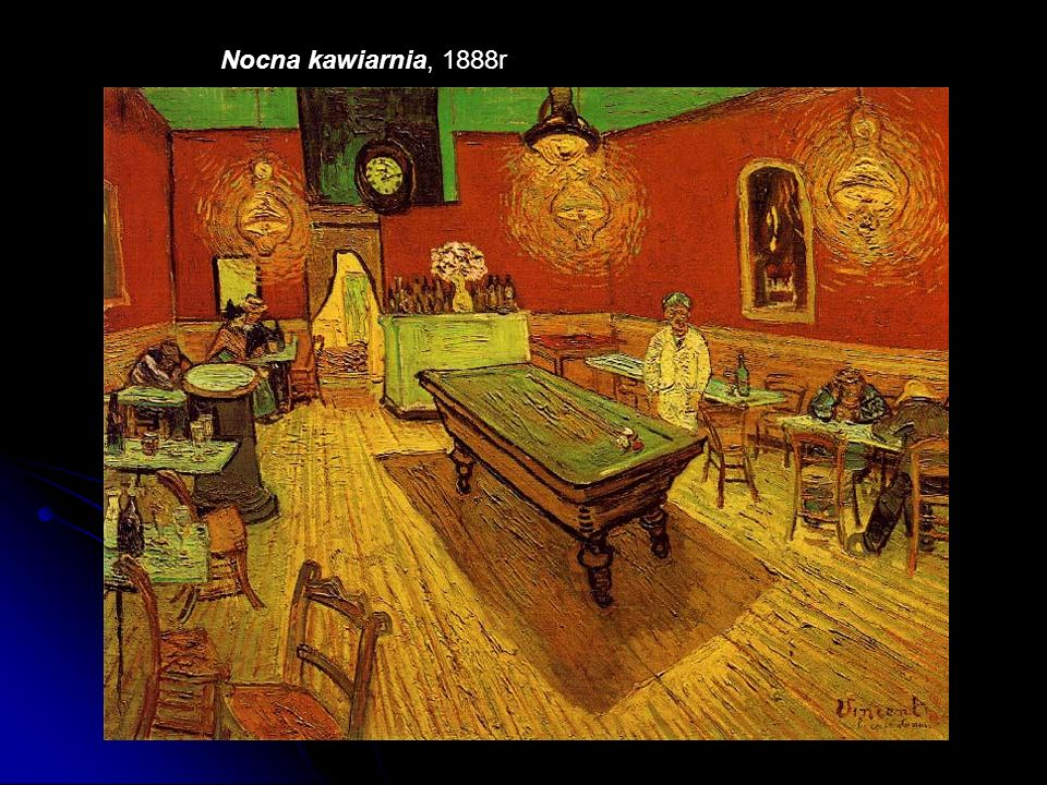 Nocna kawiarnia, 1888r