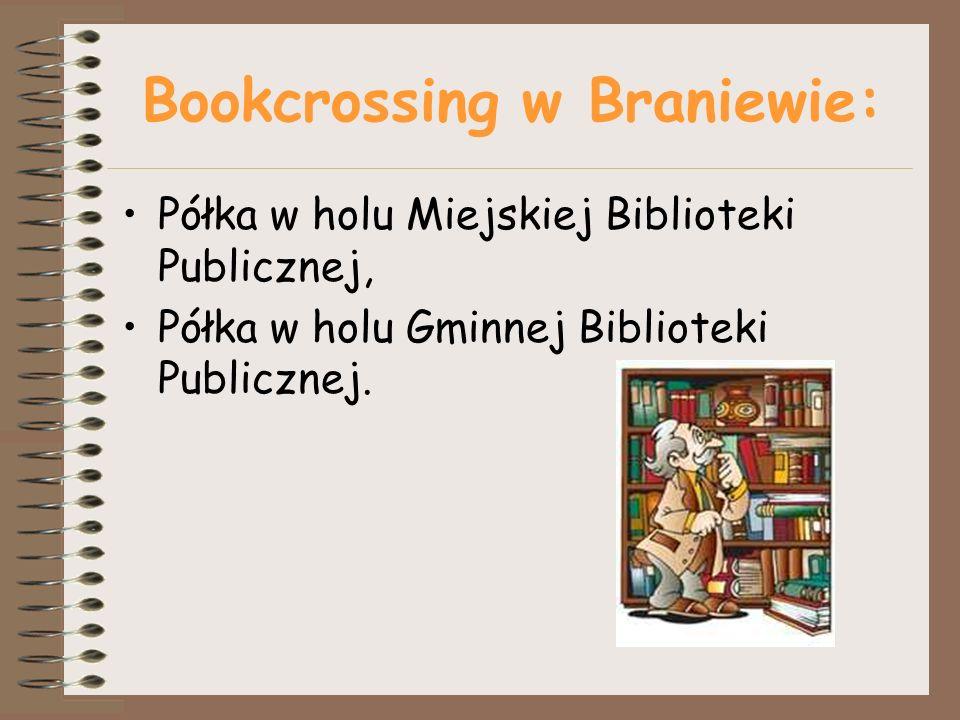 Bookcrossing w Braniewie: