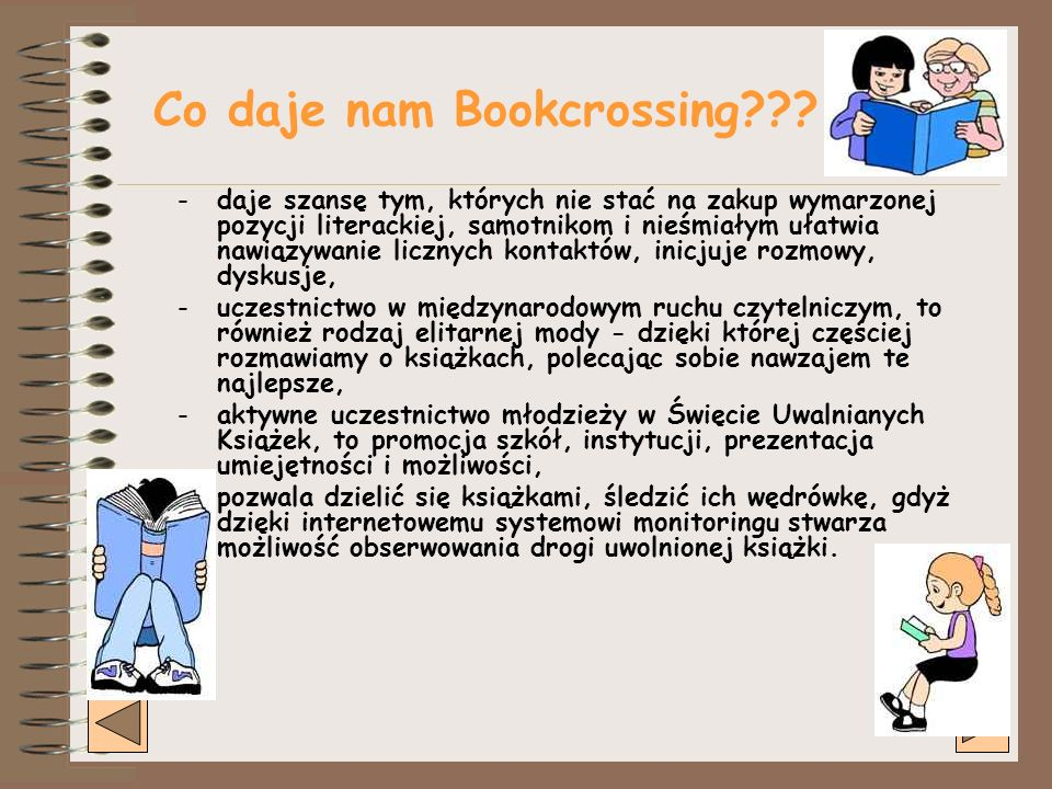 Co daje nam Bookcrossing