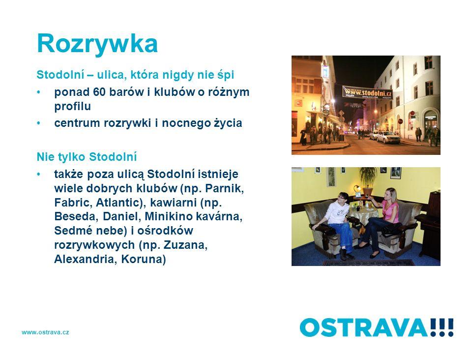 Rozrywka Stodolní – ulica, która nigdy nie śpi