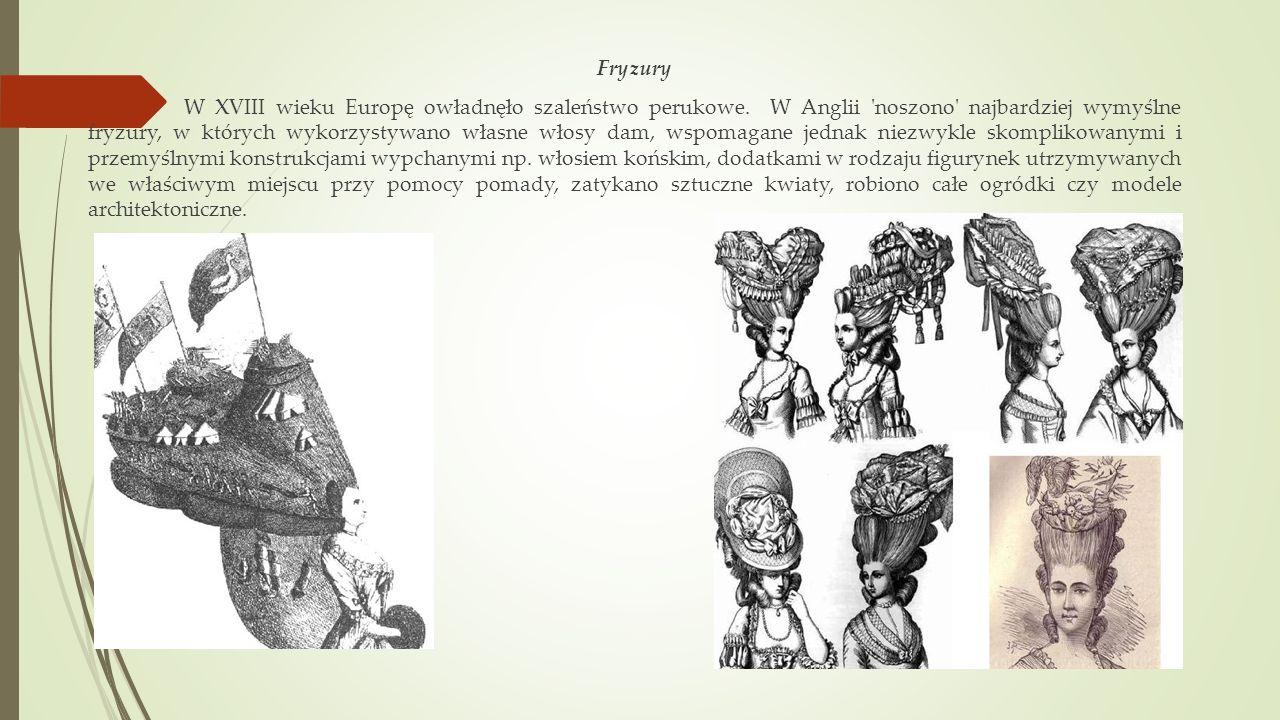 Fryzury W XVIII wieku Europę owładnęło szaleństwo perukowe