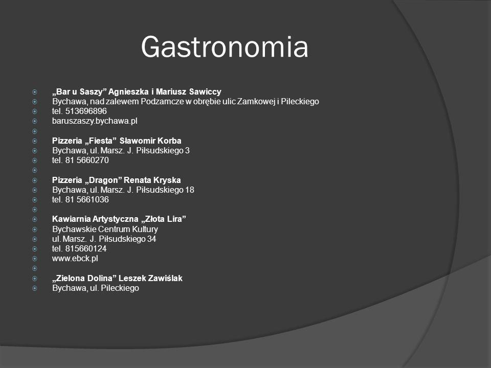 """Gastronomia """"Bar u Saszy Agnieszka i Mariusz Sawiccy"""