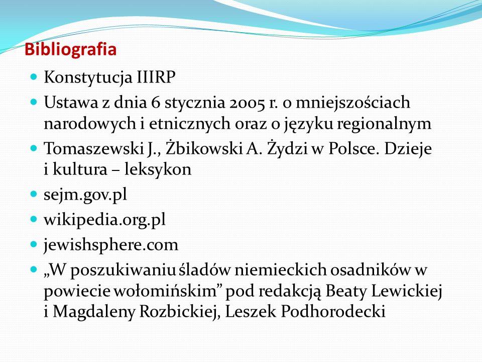 Bibliografia Konstytucja IIIRP