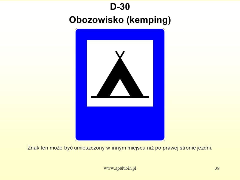 D-30 Obozowisko (kemping)