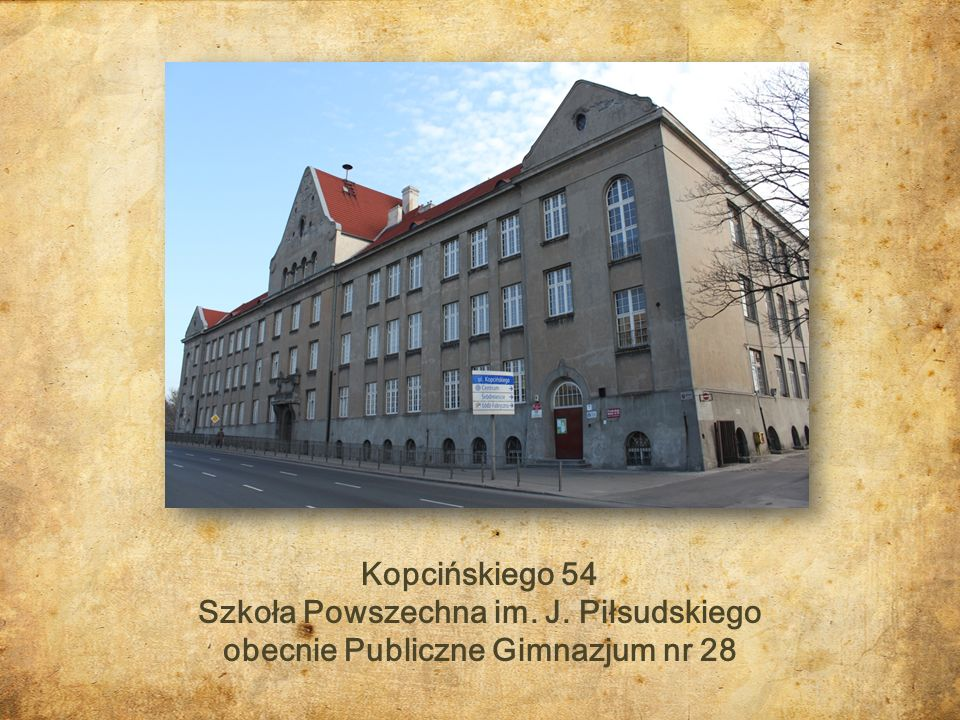 Szkoła Powszechna im. J. Piłsudskiego