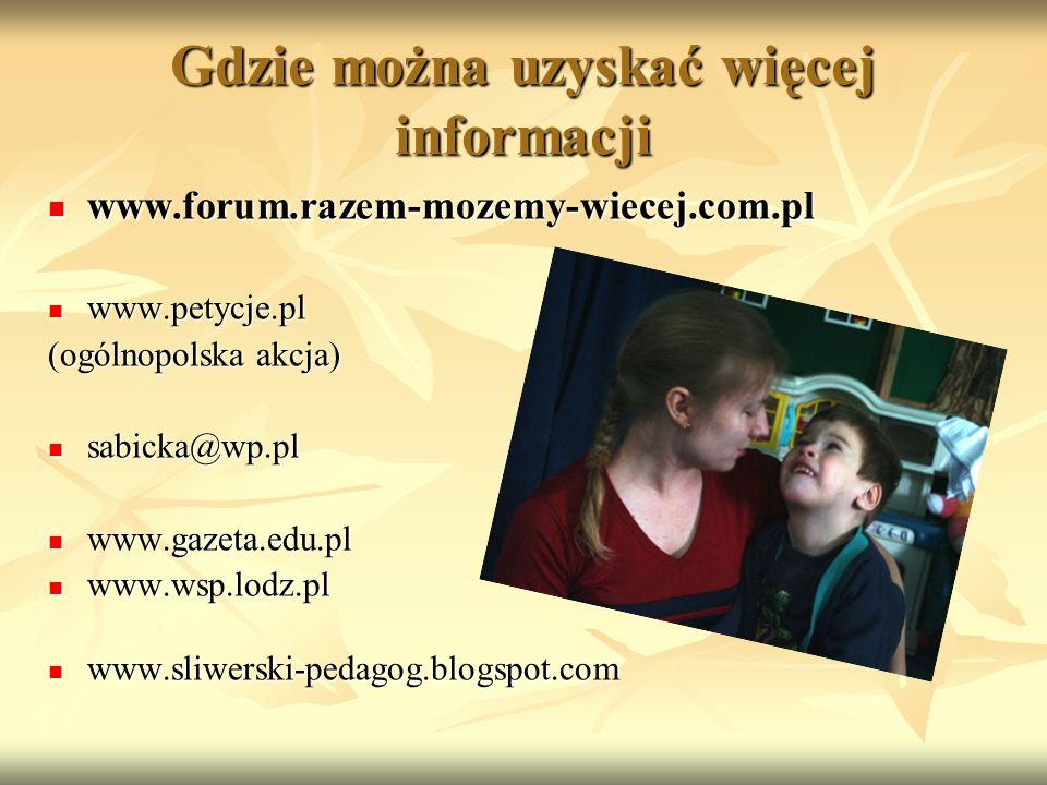 Gdzie można uzyskać więcej informacji