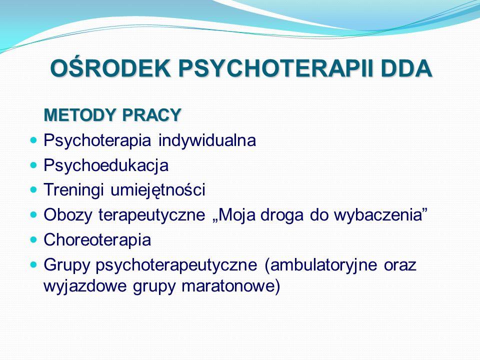 OŚRODEK PSYCHOTERAPII DDA