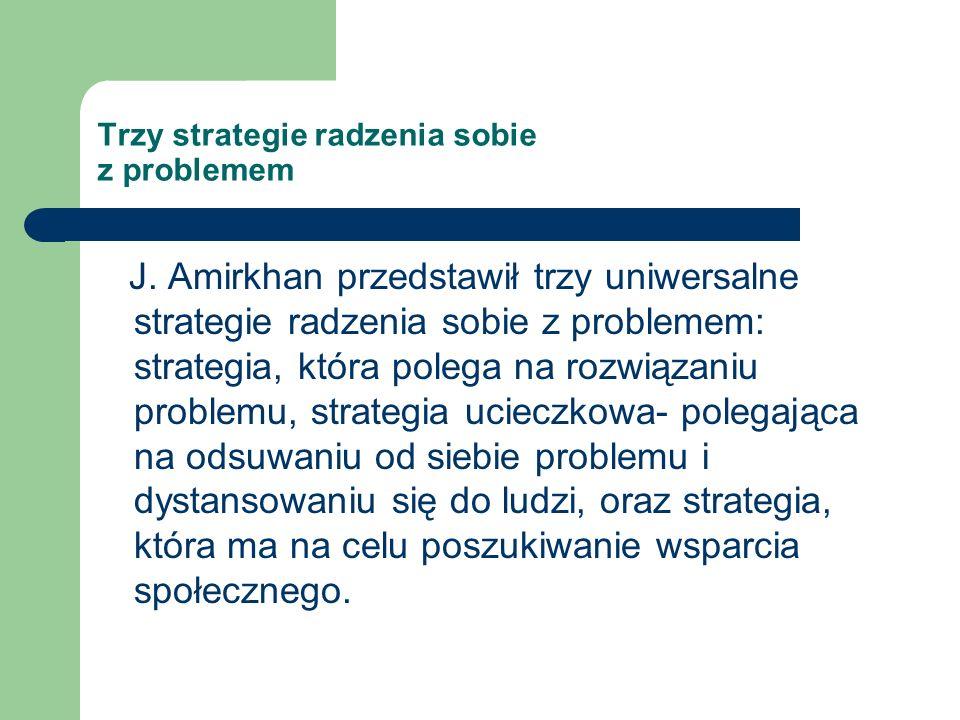 Trzy strategie radzenia sobie z problemem