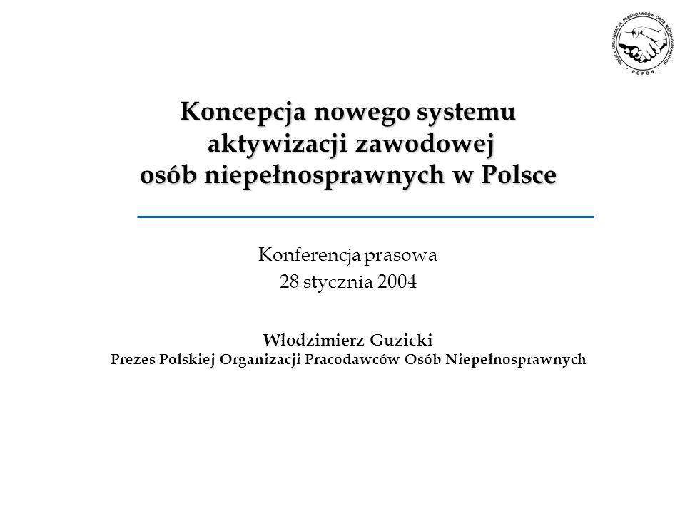 Prezes Polskiej Organizacji Pracodawców Osób Niepełnosprawnych