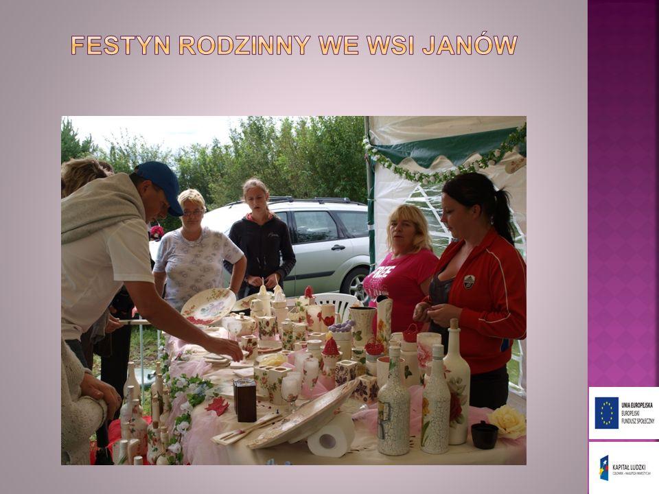Festyn rodzinny we wsi janów