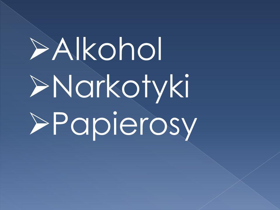 Alkohol Narkotyki Papierosy
