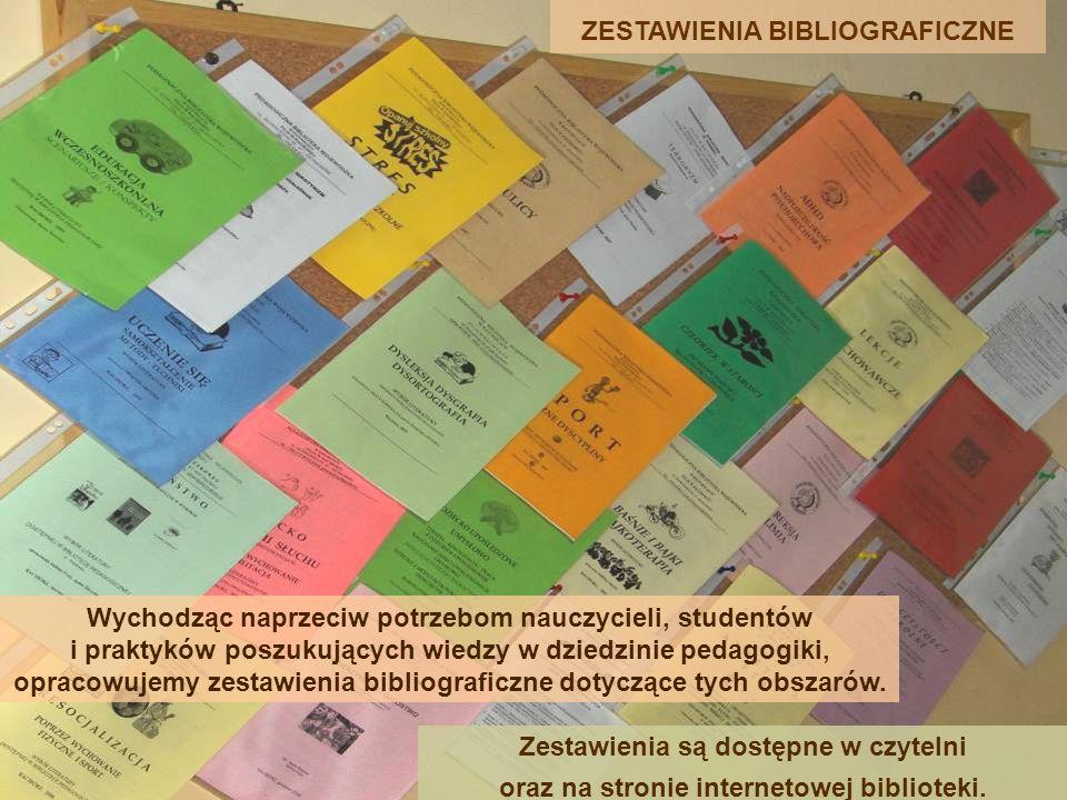 ZESTAWIENIA BIBLIOGRAFICZNE