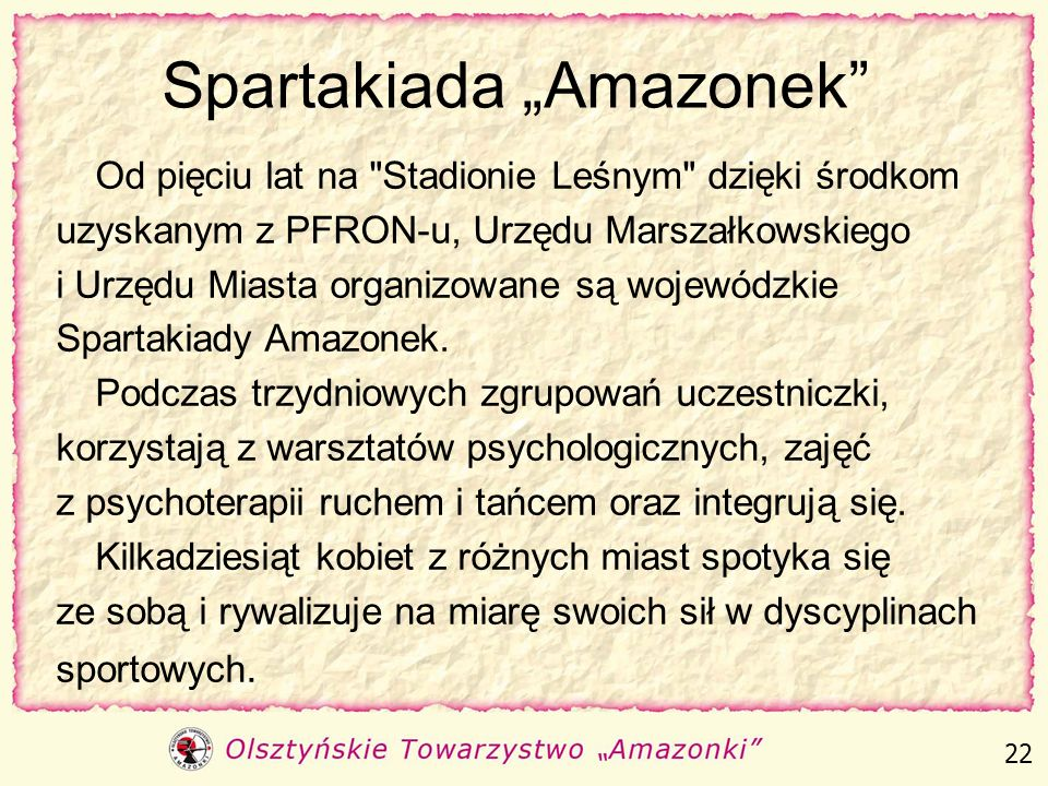 "Spartakiada ""Amazonek"