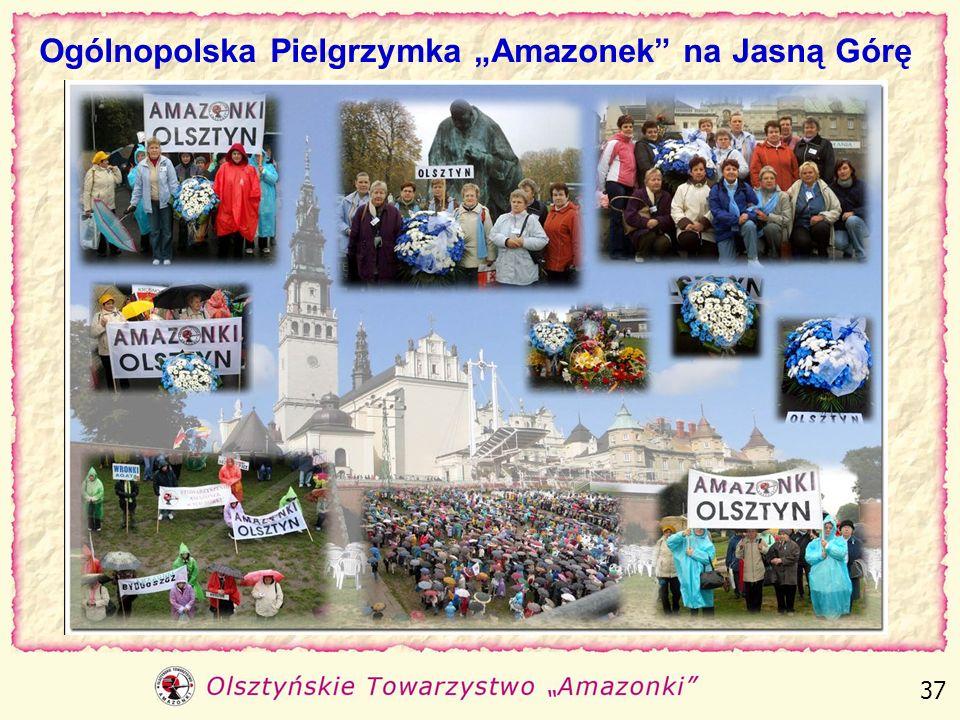 """Ogólnopolska Pielgrzymka """"Amazonek na Jasną Górę"""