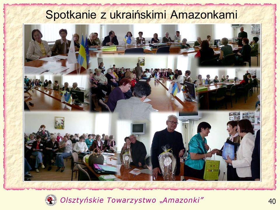 Spotkanie z ukraińskimi Amazonkami