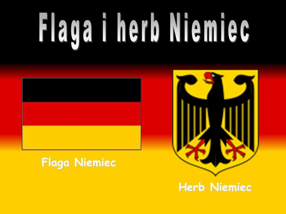 Flaga i herb Niemiec Flaga Niemiec Herb Niemiec