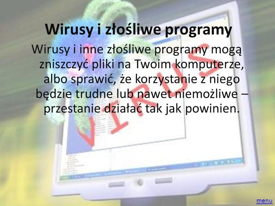 Wirusy i złośliwe programy