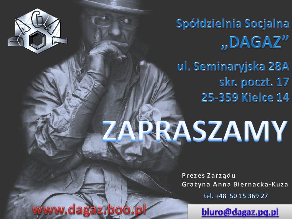 """Spółdzielnia Socjalna """"DAGAZ"""