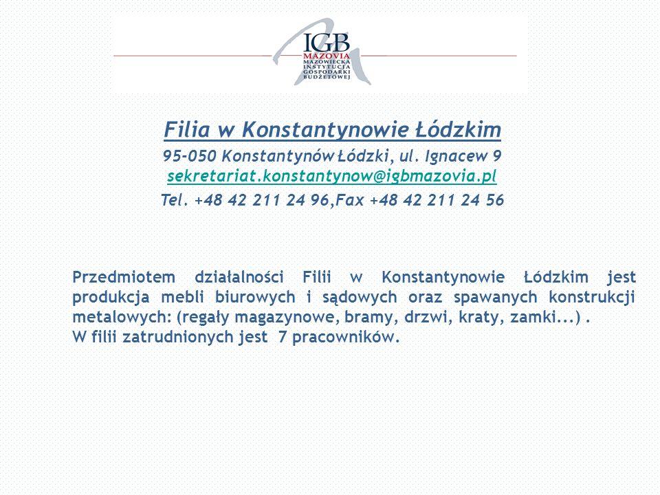 Filia w Konstantynowie Łódzkim