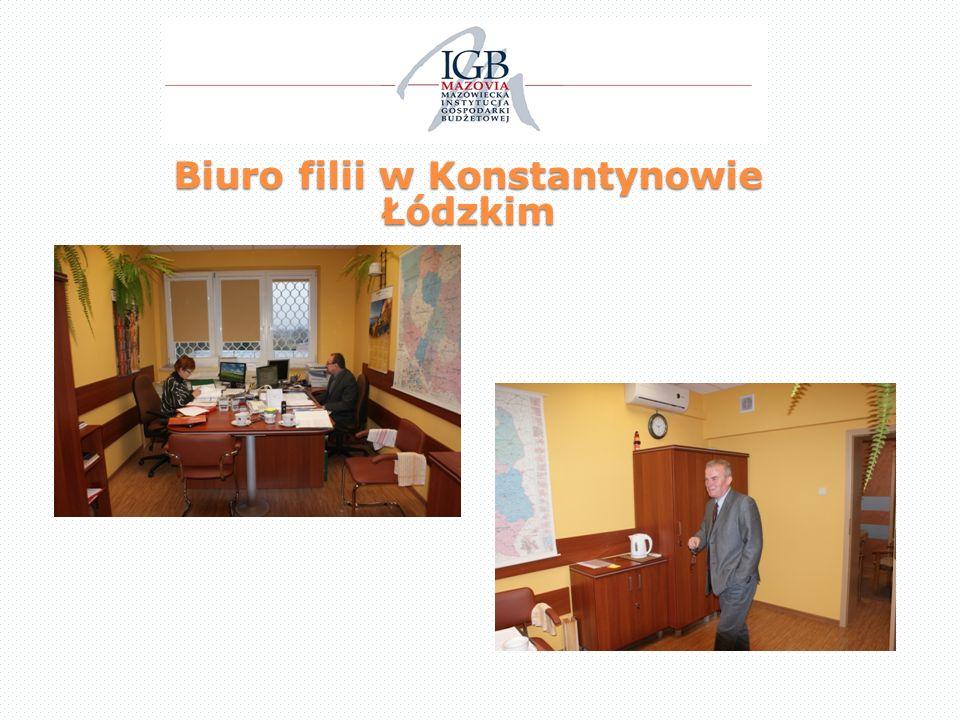 Biuro filii w Konstantynowie Łódzkim