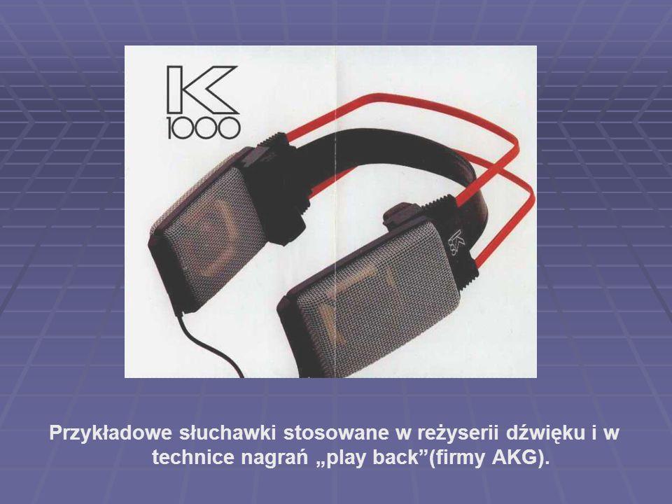"""2017-03-28 Przykładowe słuchawki stosowane w reżyserii dźwięku i w technice nagrań """"play back (firmy AKG)."""