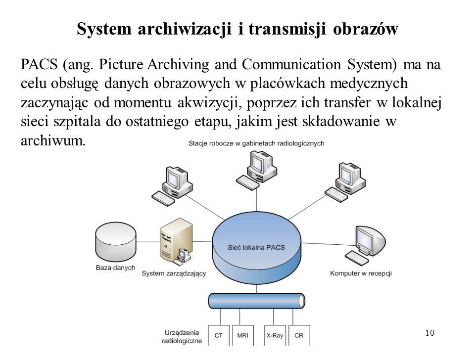System archiwizacji i transmisji obrazów