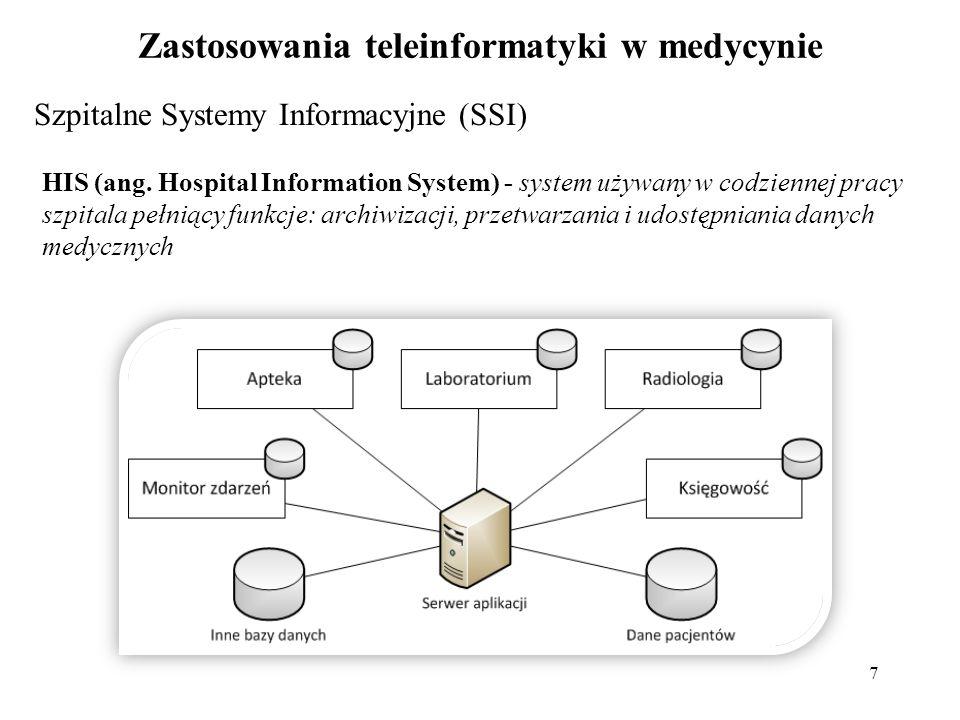 Zastosowania teleinformatyki w medycynie
