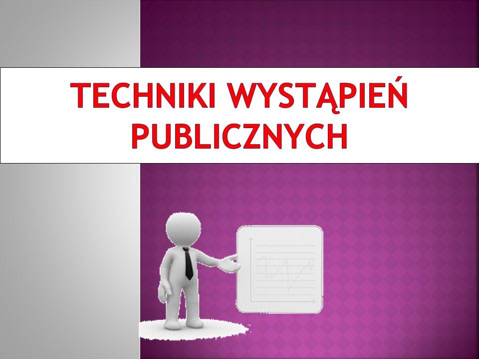 Techniki wystąpień publicznych