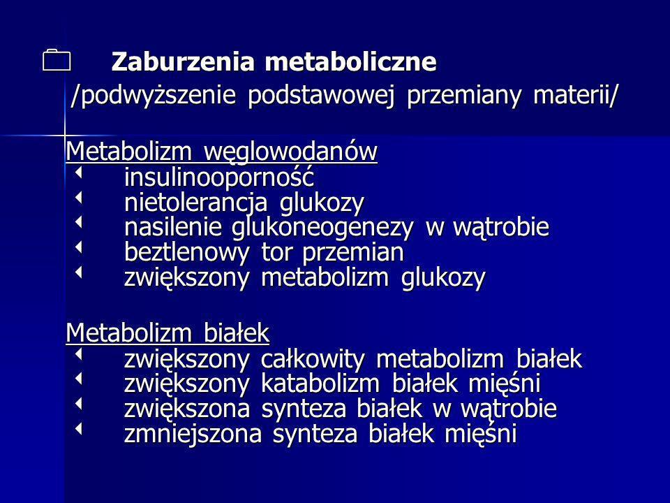 0 Zaburzenia metaboliczne