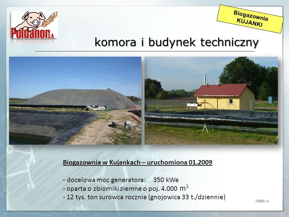 komora i budynek techniczny