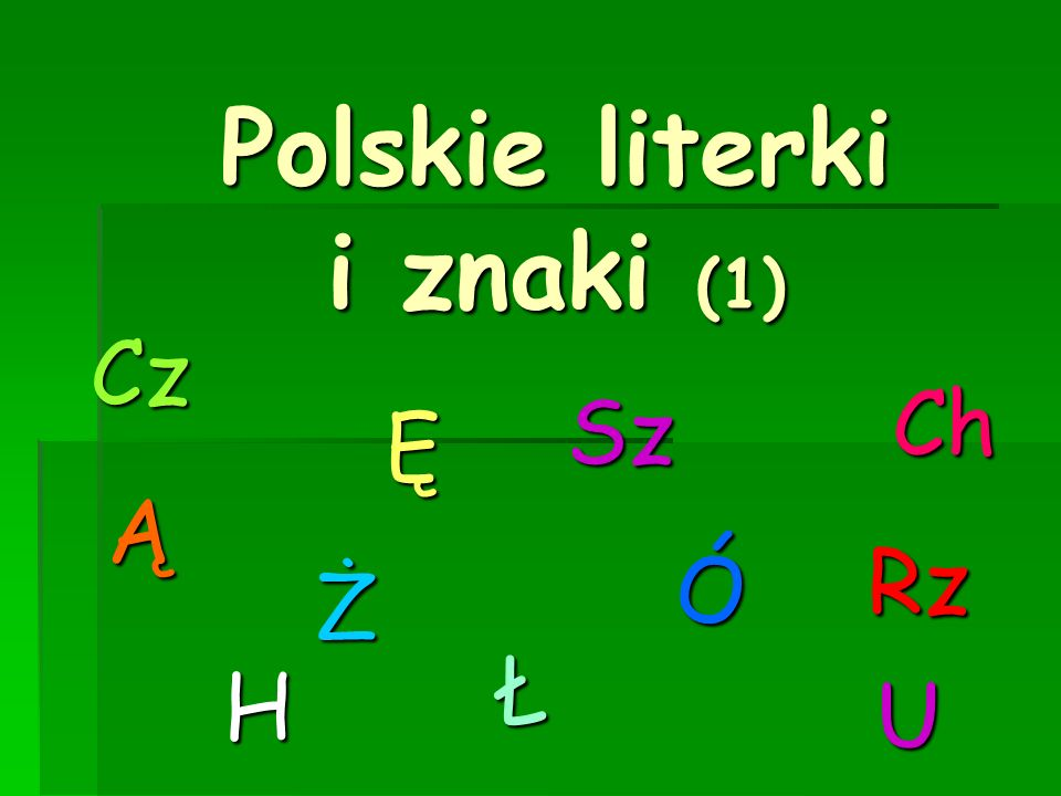 Polskie literki i znaki (1)