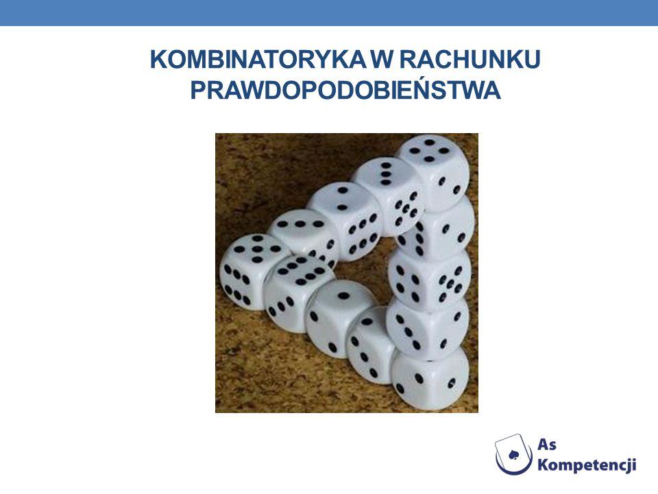 Kombinatoryka w rachunku prawdopodobieństwa