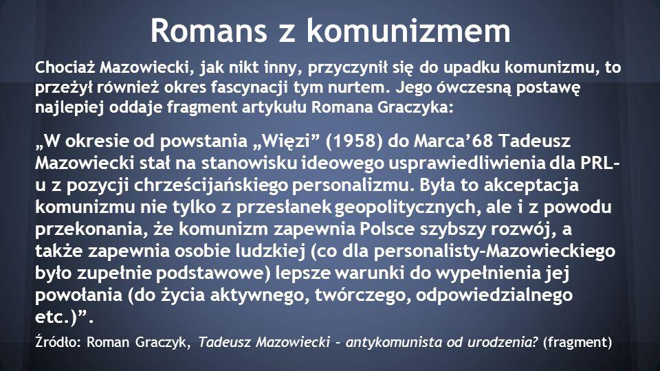 Romans z komunizmem