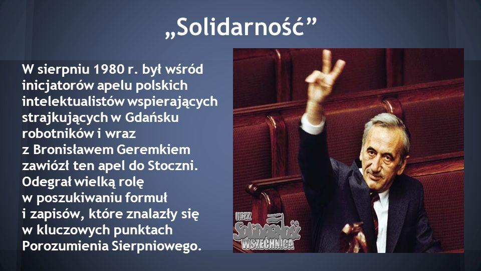 """""""Solidarność"""