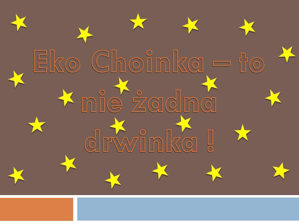 Eko Choinka – to nie żadna drwinka !