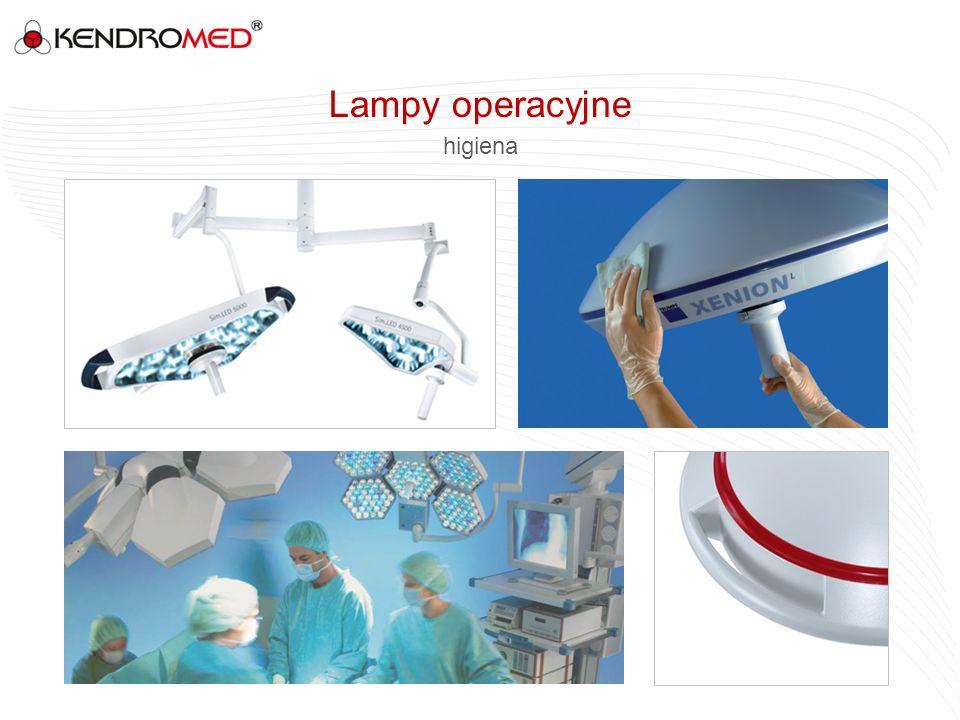 Lampy operacyjne higiena