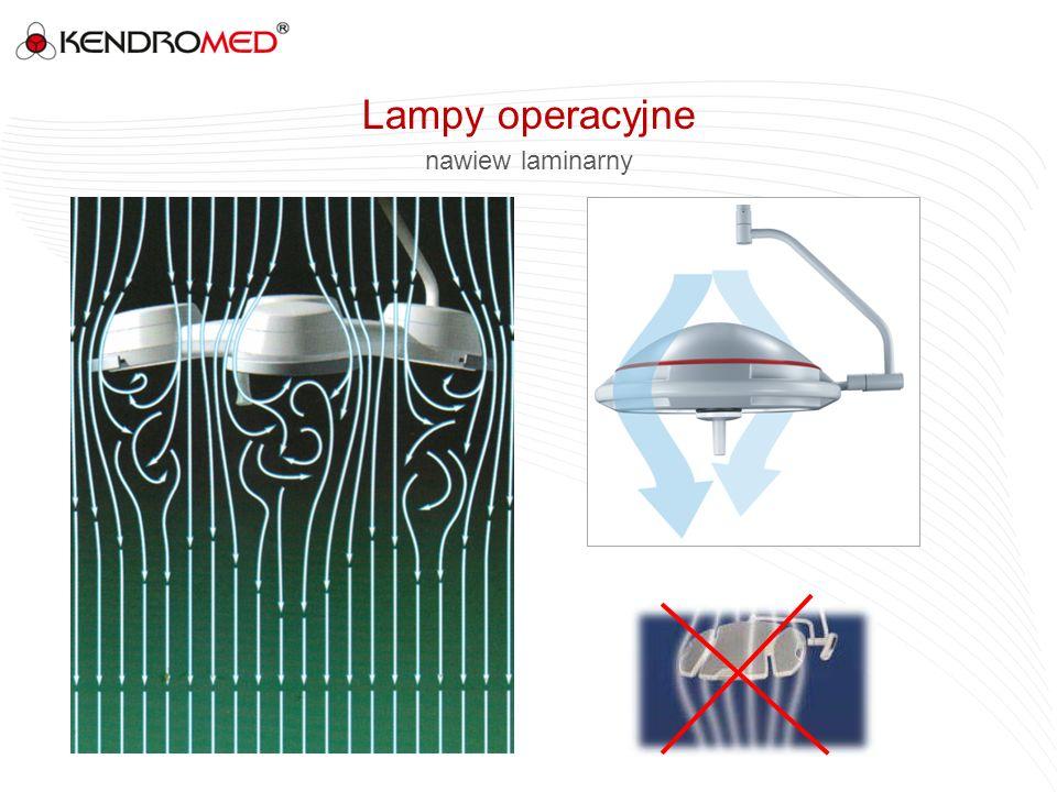 Lampy operacyjne nawiew laminarny