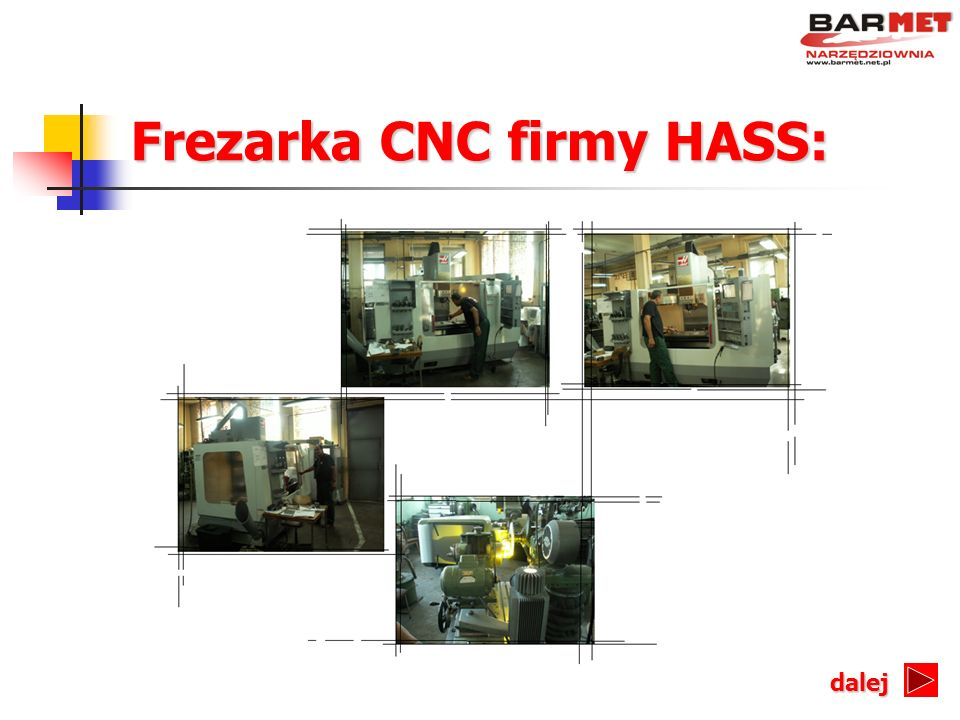 Frezarka CNC firmy HASS: